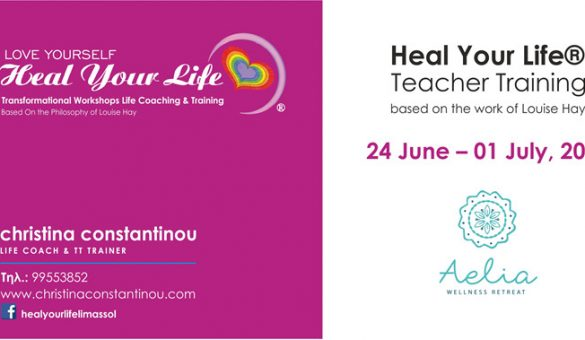 Heal Your Life® Teacher Training Course based on Louise Hay